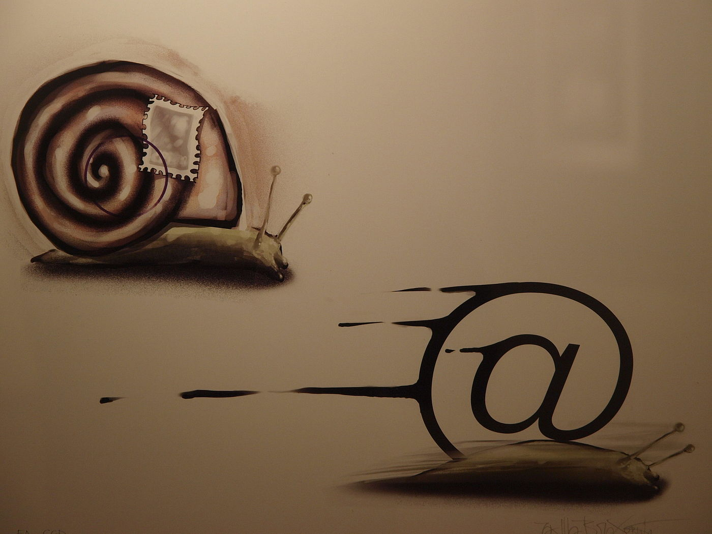 snail or mail
